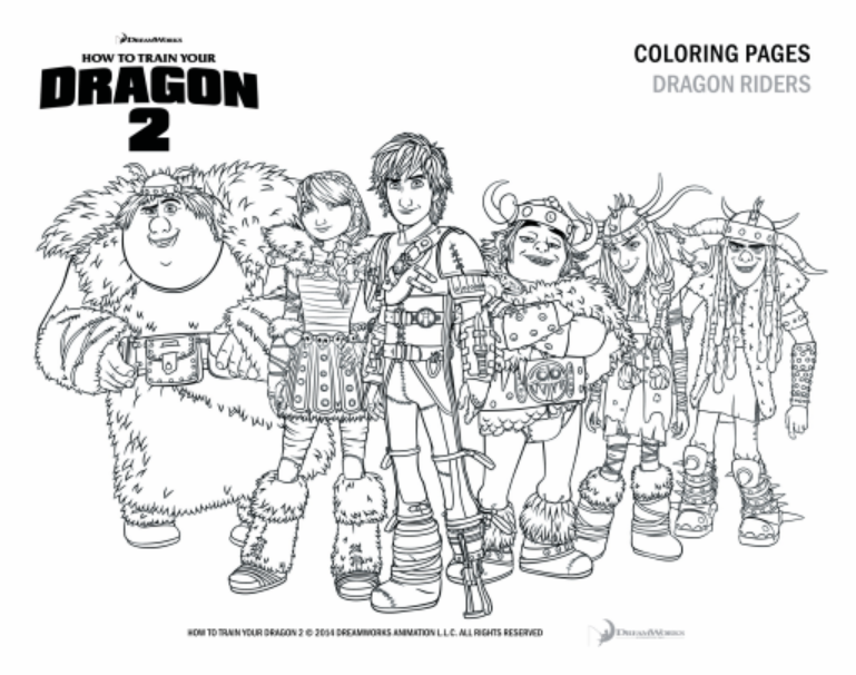 how to train your dragon 2 free coloring pages and printables httyd2