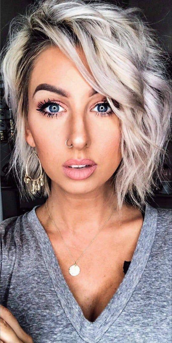 beste 55 bilder von kurzen glatten blonden haaren #haare #