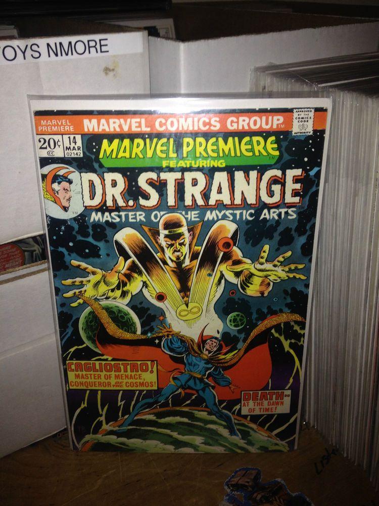 MARVEL PREMIERE #14 DOCTOR STANGE MARVEL COMICS