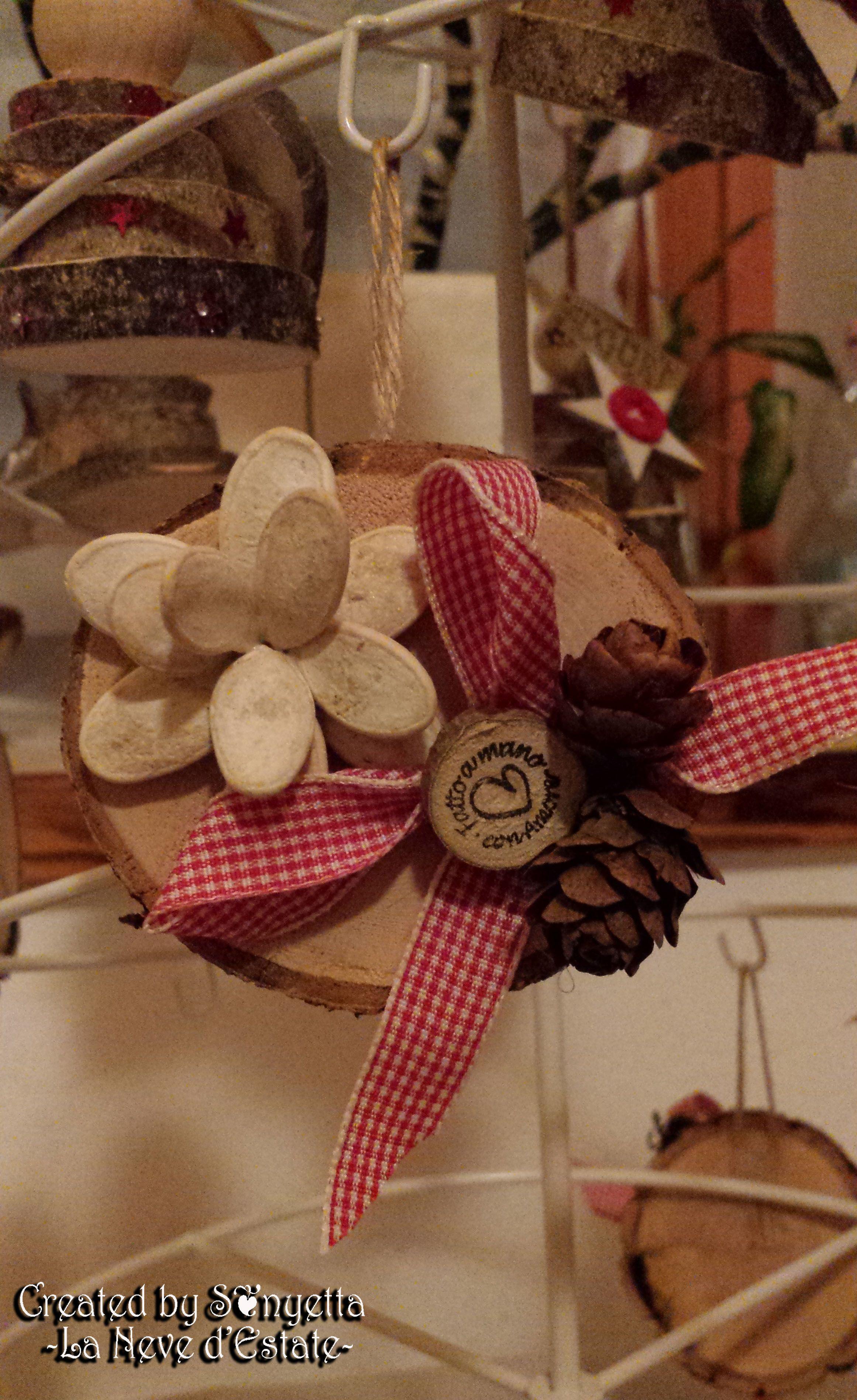 Lavoretti In Legno Per Natale image result for lavoretti natale con rotelle di tronco (con