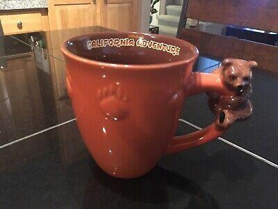 Disney California Adventure Bear Grizzly River Run Large Coffee Mug | eBay