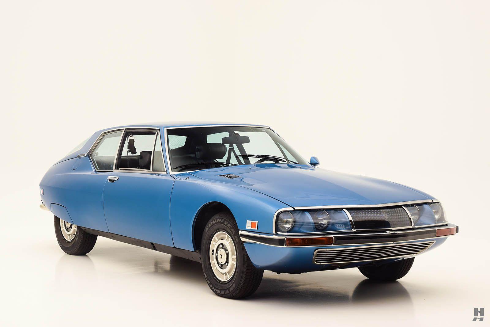 1973 Citroën SM 2.7   V6, 2,670 cm³   US version   design: Robert ...