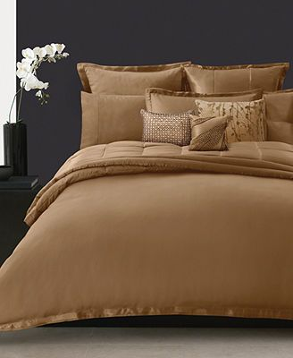 Delightful Donna Karan Bedding, Modern Classics Cognac Collection Great Pictures