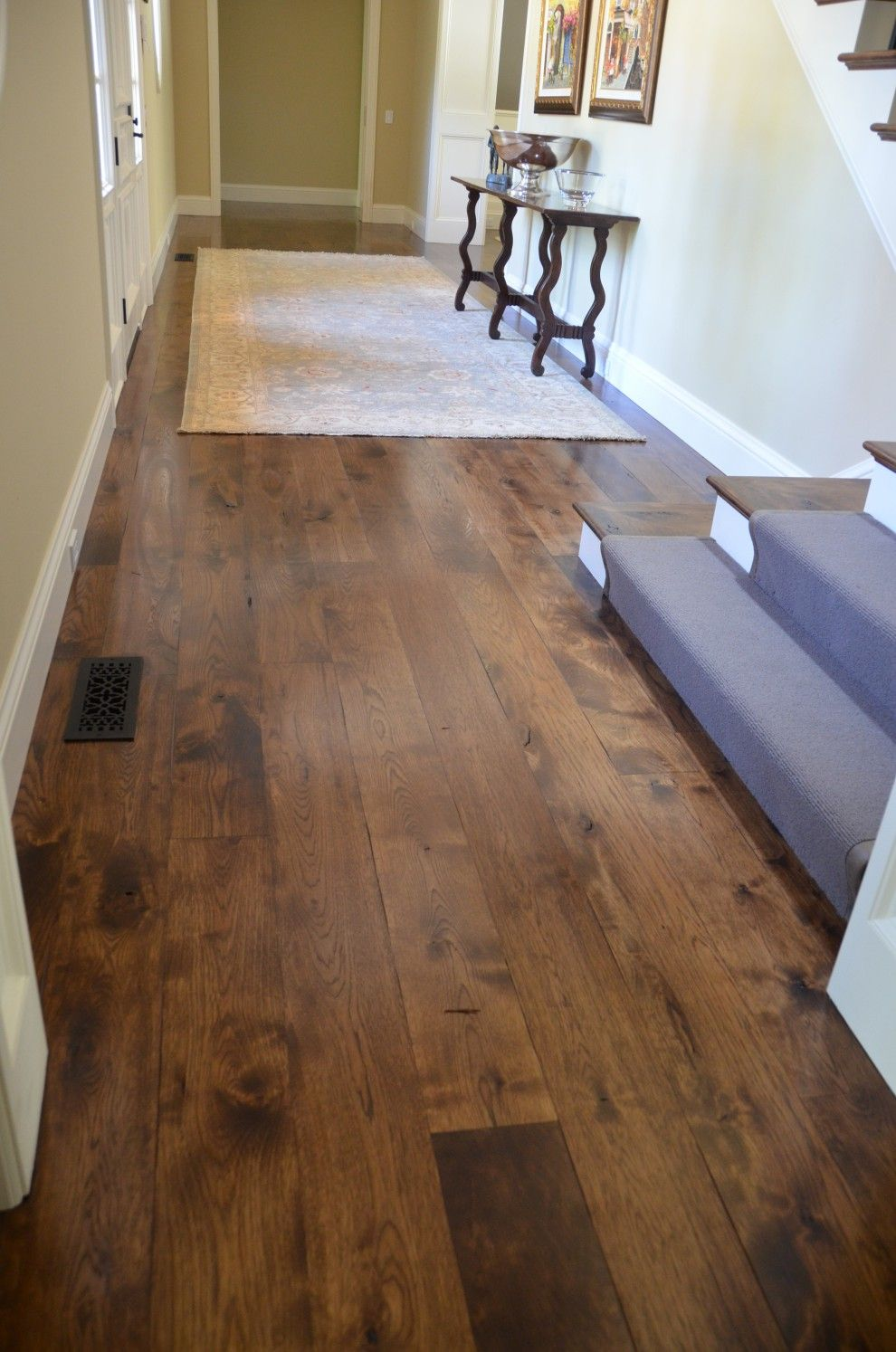 2074 Hickory Too Blotchy Wide Plank Flooring Hardwood Floors Solid Hardwood Floors