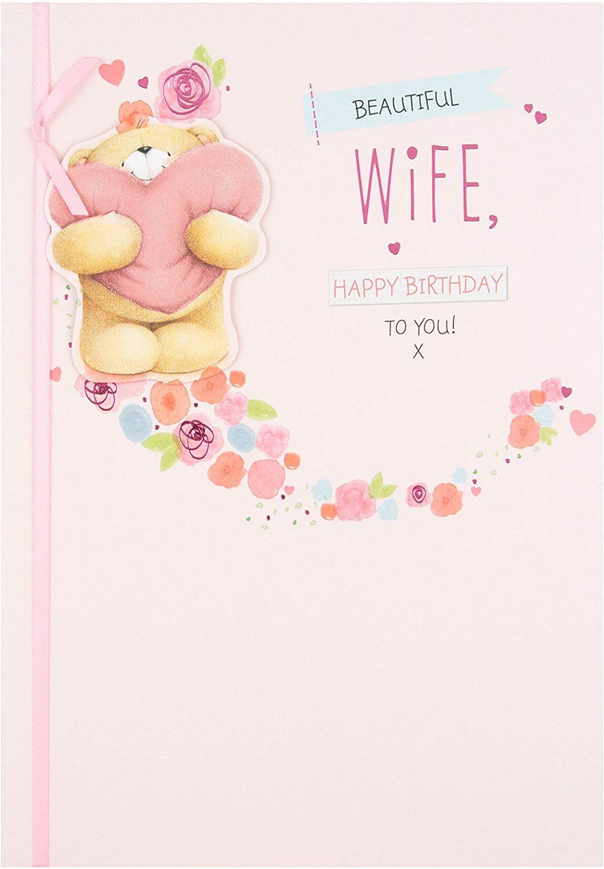 Hallmark forever friends wife birthday card beautiful