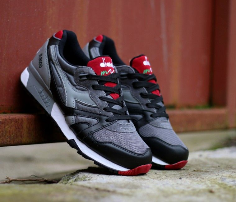 Diadora N9000-Grey-Black  0a8cd329a76