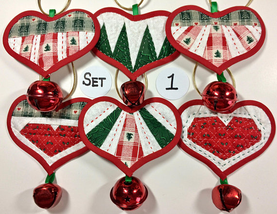 Country Hearts Christmas: Paper-Pieced Hand-Quilted ...