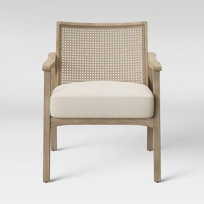 Chelmsford Cane Lounge Chair Natural Threshold Size Assembly