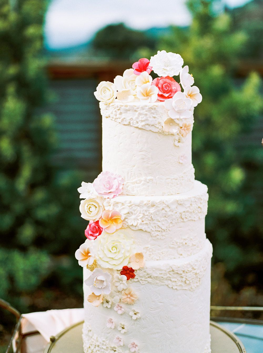Spring floral wedding cake c a k e s g a l o r e in
