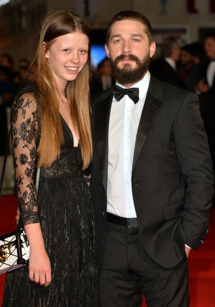 Shia LaBeouf and Mia Goth Cute celebrity couples