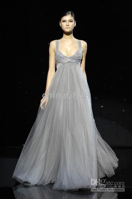 gray wedding dresses - Google Search | Wedding | Pinterest | Grey ...