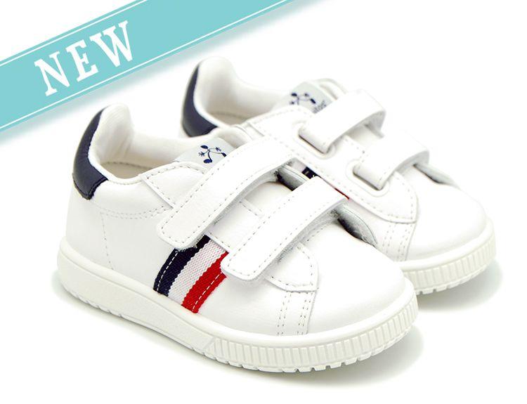 Tienda online de calzado infantil Okaaspain. Zapatilla de piel lavable  Titanitos… 37667c6cd1d