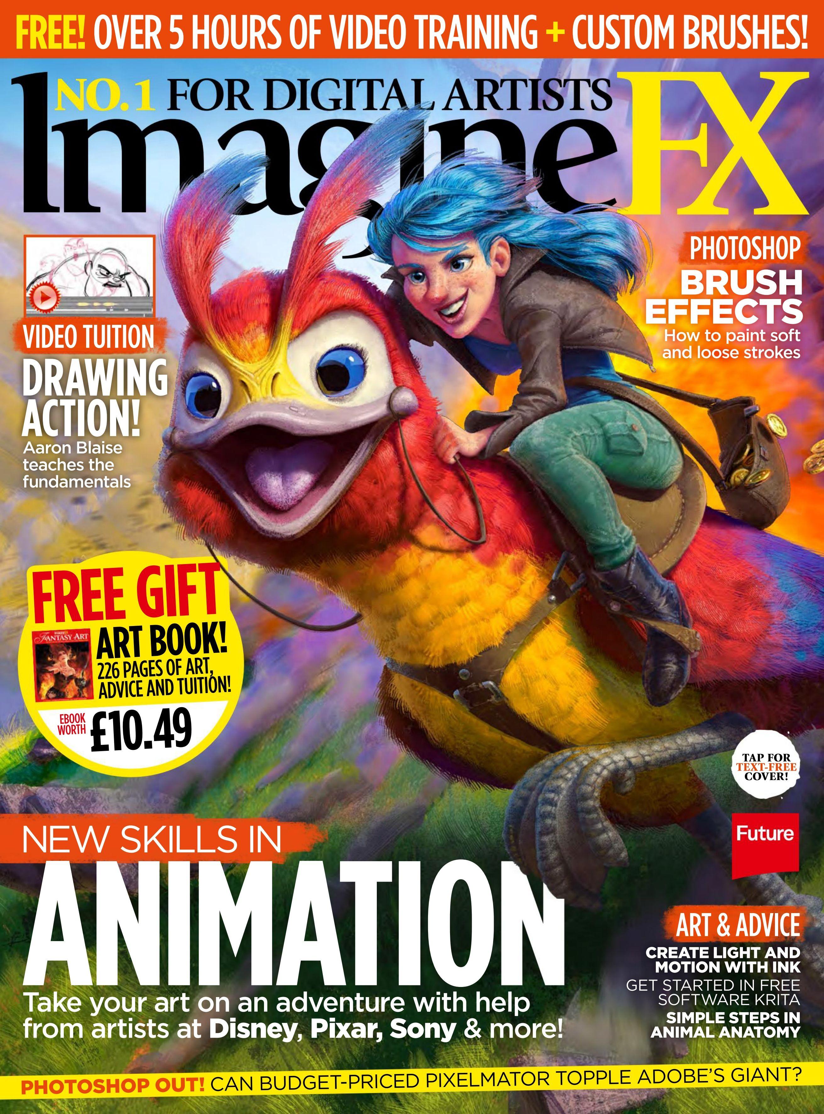 IMAGINEFX 2012 07 DOWNLOAD