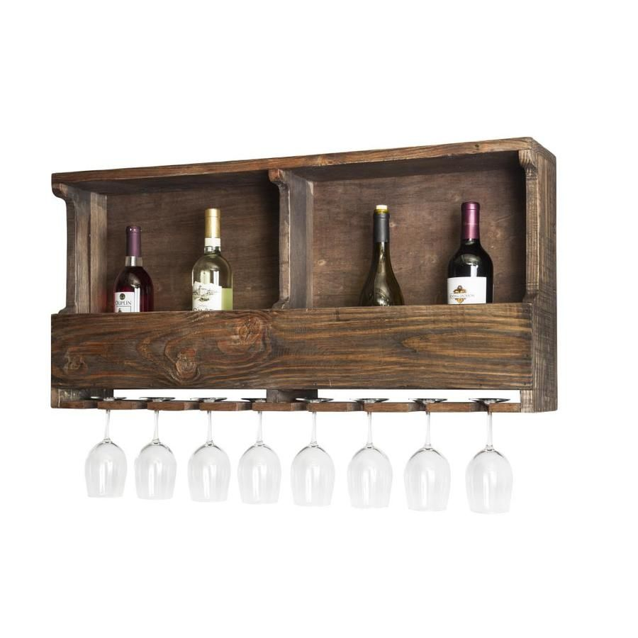 Alaterre Furniture Modesto Reclaimed Wood Wine Rack Amsa3120 In