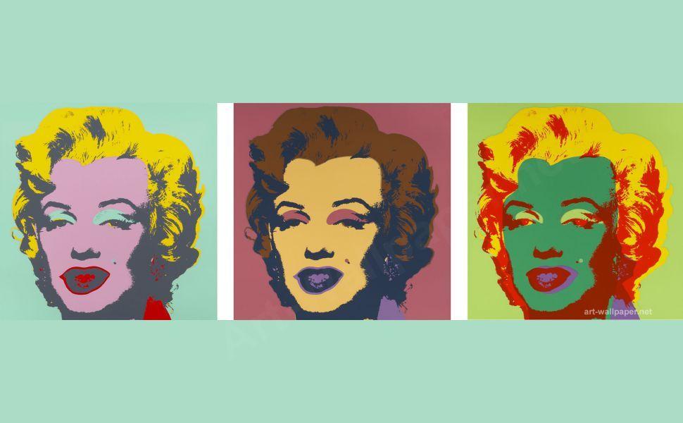 Pop Art Marilyn Monroe Andy Warhol Hd Wallpaper Anziehsachen Sachen
