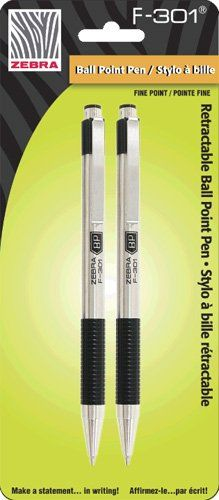 Zebra F-301 Retractable Ballpoint Pen
