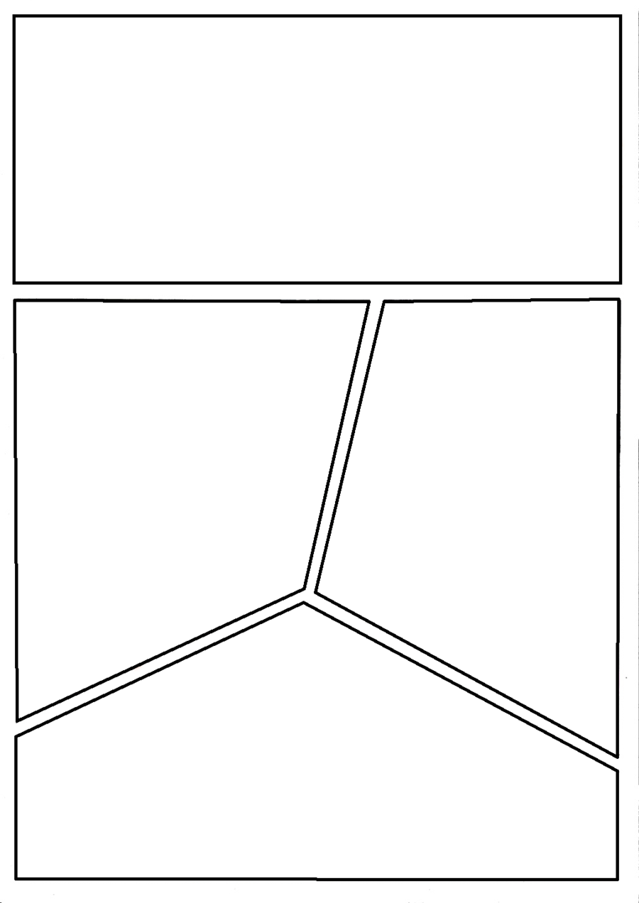 Blank Comic Page  By CNnRmanDeviantartCom On Deviantart