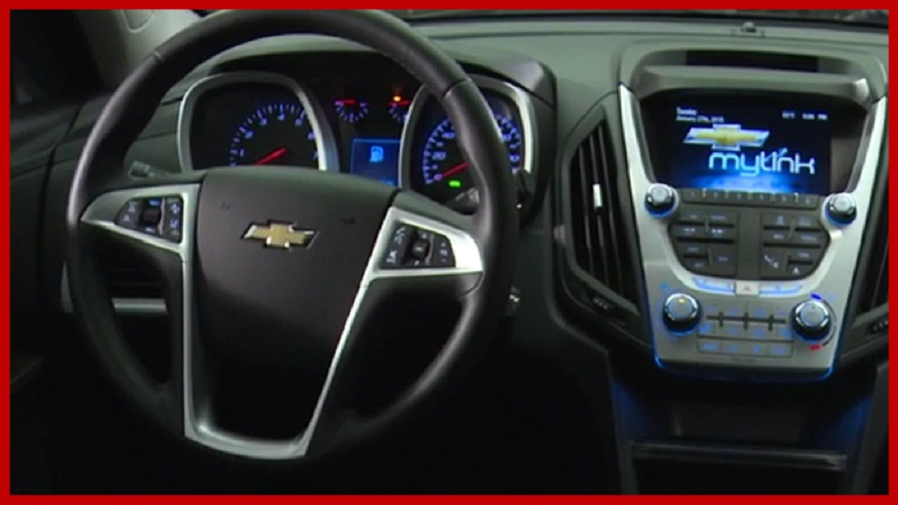 2016 Chevrolet Equinox Interior Chevrolet 2016 Chevy News