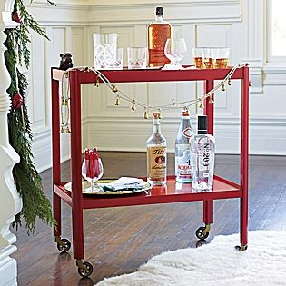 Manhattan Bar Cart – Red #serenaandlily $420