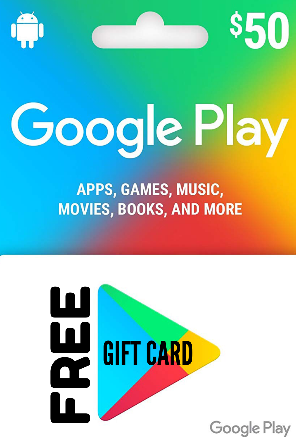 Redeem your Google play gift card with your Mobile, Tablet