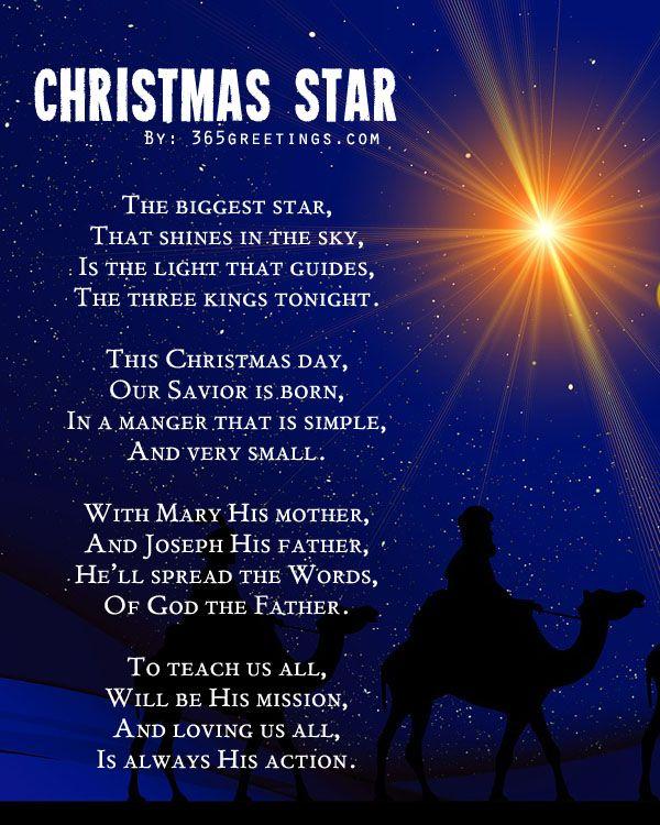 Christmas Poems For Kids Saying Christmas Poems Christmas