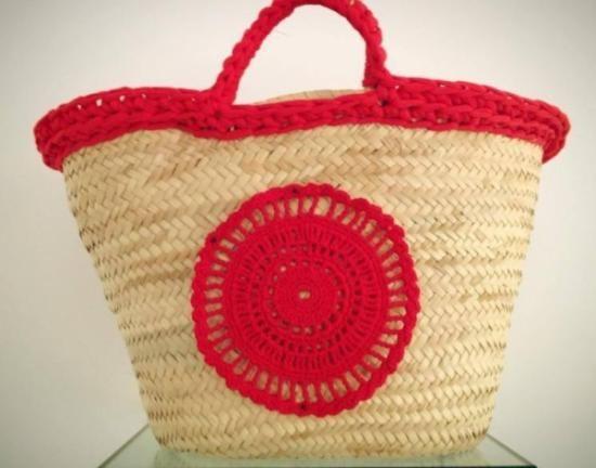 carpazo decorado en crochet
