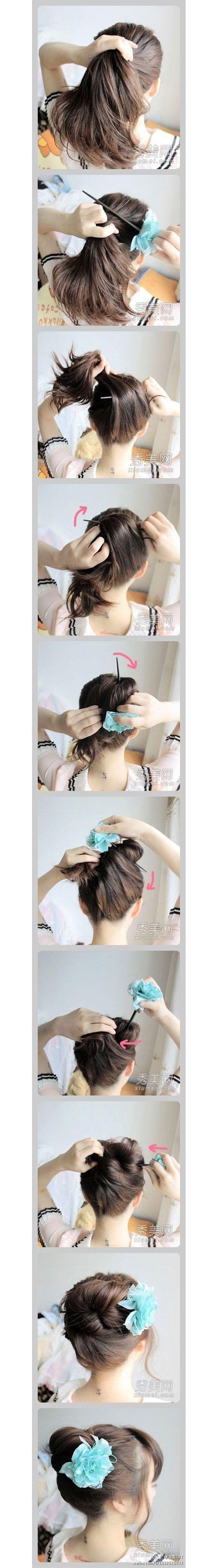 Inspiringhairstyletutorialideasforgirls peinados
