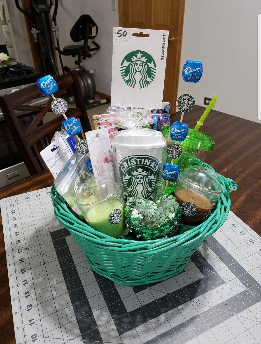 Diy Gift Basket Starbucks Teenagers Gift Basket Christmas Gift