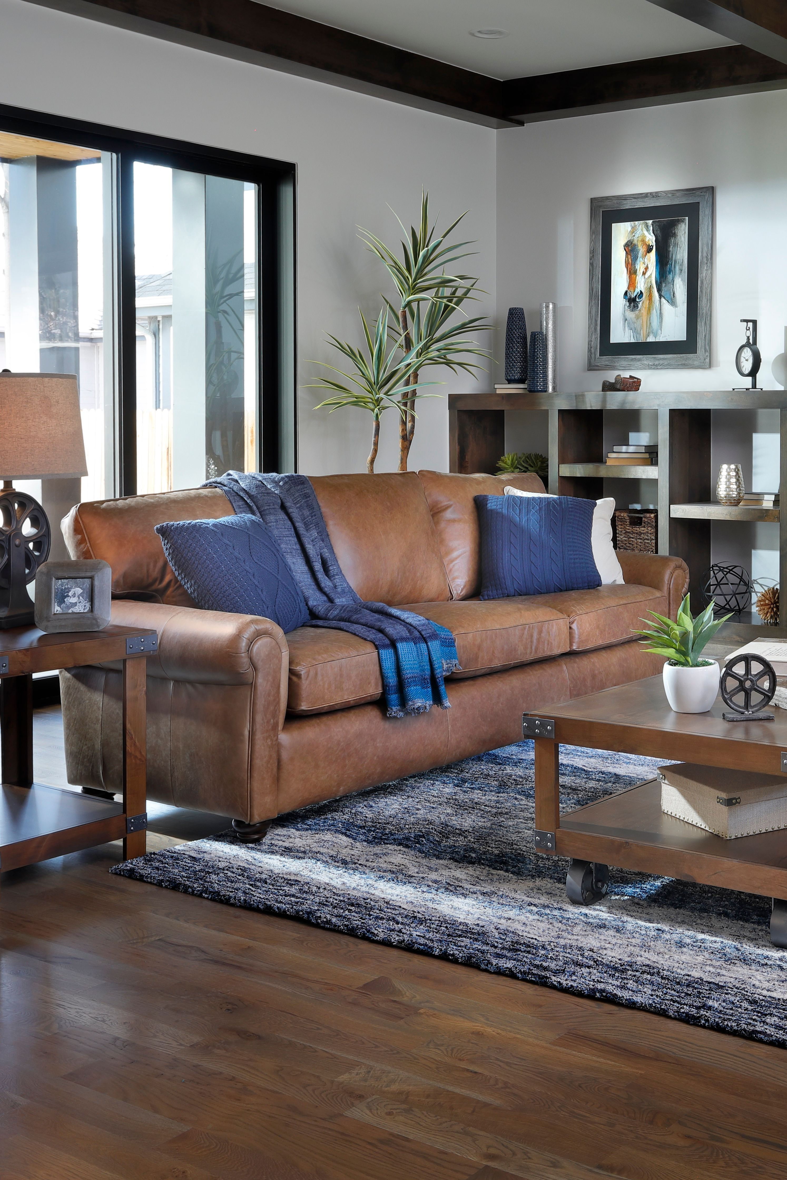 Home Interior Bedroom The chestnut brown Portico Sofa invites you to relax in top-grain Italian leather style. Matching Portico Loveseat Chair and Ottoman complete your living room or family room. For a limited time save $100 on the Portico Sofa during the Memorial Day Sale. Ends 6/4/20. #memorialdaysale #furniturerow #leather #livingroom #familyroom #home #homedecor #stayhome.Home Interior Bedroom  The chestnut brown Portico Sofa invites you to relax in top-grain Italian leather style. Matching