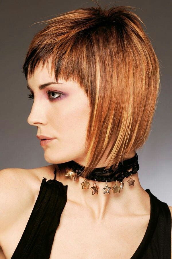 Pin By Joyce Brown On Beauty Etc Pinterest Haircut Styles Bobs