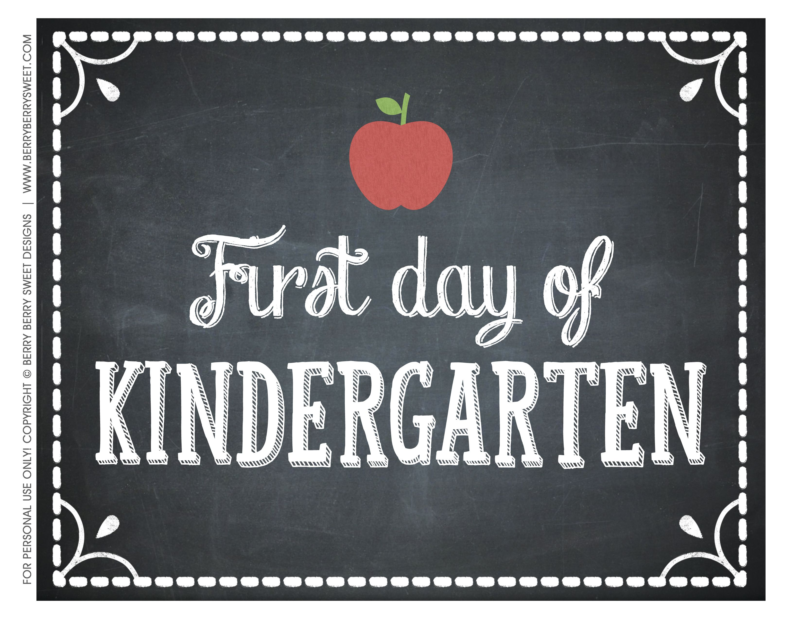 picture relating to First Day of Kindergarten Sign Printable referred to as University Very first Working day of Kindergarten Indication Printable Crafts