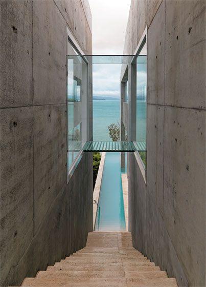 Guia da Arquitetura: Concreto entre céu e mar.