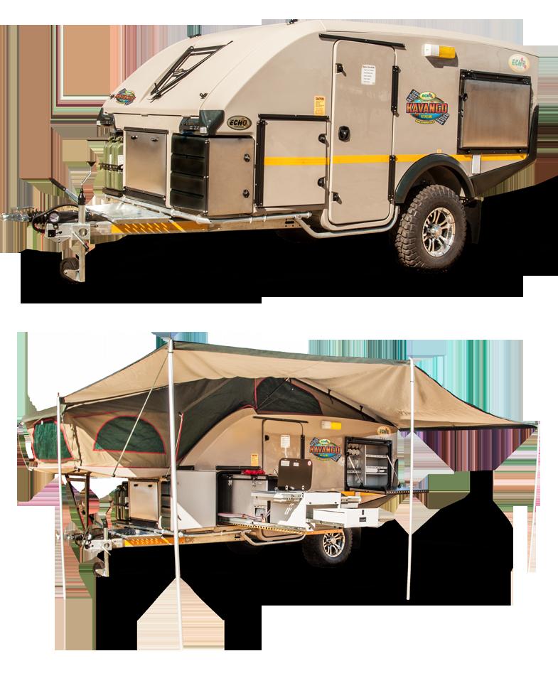 Rv Trailers: Kavango Xtreme 4x4 Caravan