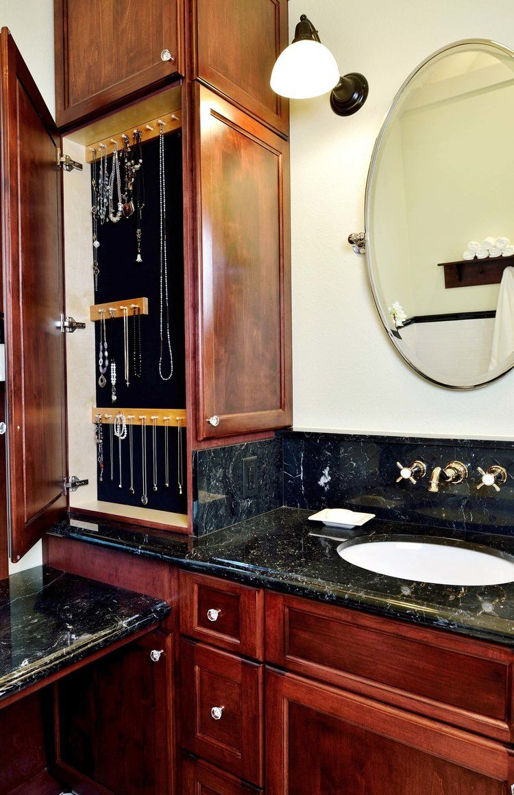 The 12 Inch Deep Upper Bathroom Cabinet Include One In Your Next Remodel Amazing Bathroom Remodels Bathroom Vanity Remodel Diy Bathroom Remodel