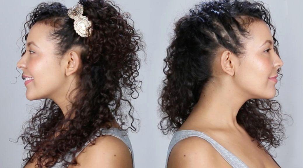 Lockige Frisur Hochsteckfrisuren Neue Kurzhaarschnitt Videos Lockige Frisuren Lockige Frisur …