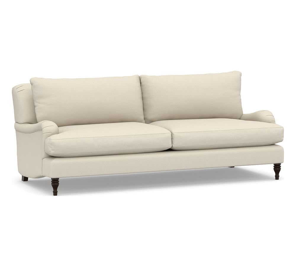 carlisle upholstered grand sofa with bench cushion sectional sofas rh pinterest com