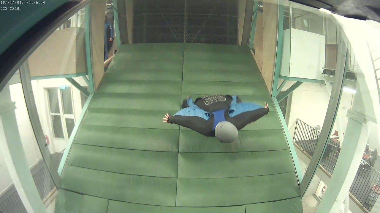 Wingsuit Wind Tunnel Stockholm Sweden..isit the Indoor