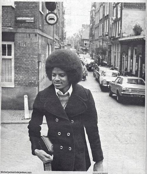 983a446d089c9e Michael Jackson at the Lauriergracht/Hazenstraat in the Jordaan section of  Amsterdam. #amsterdam #1977 #Michael #Jackson #lauriergracht