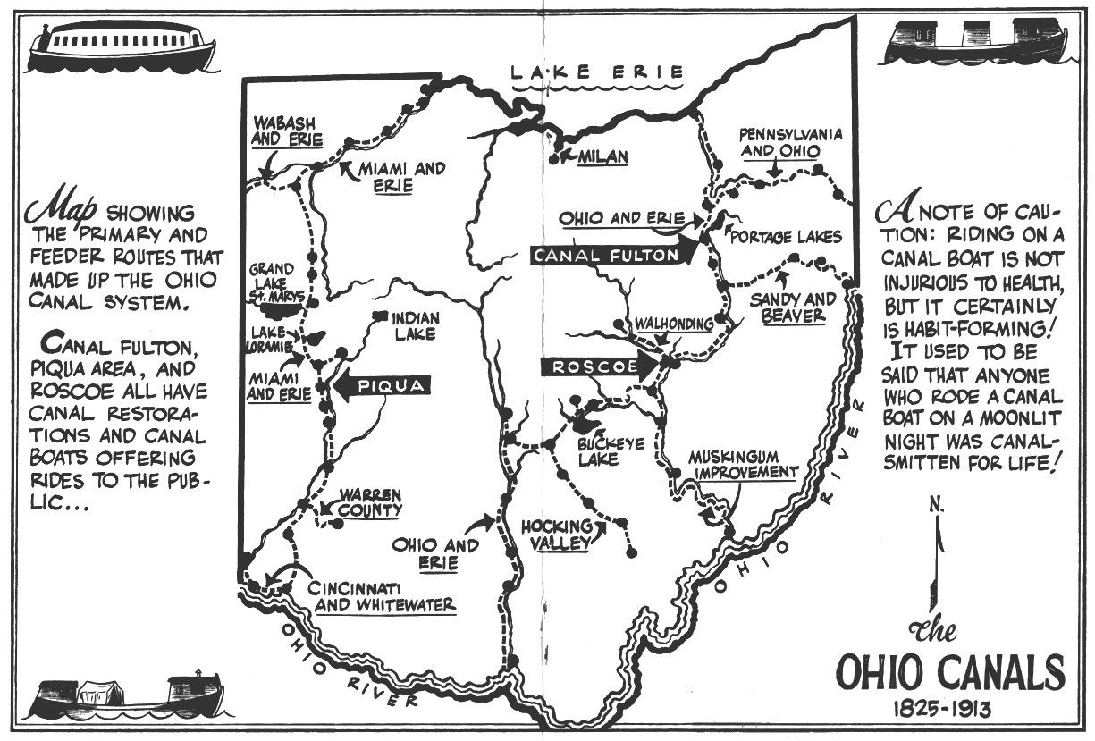 Ohio to erie trail map, north east section Google Search