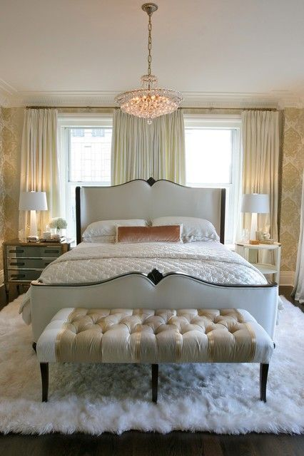 Bedroom Window Behind Bed Benches 61 Ideas In 2020 Master Bedroom Design Traditional Bedroom Bedroom Decor