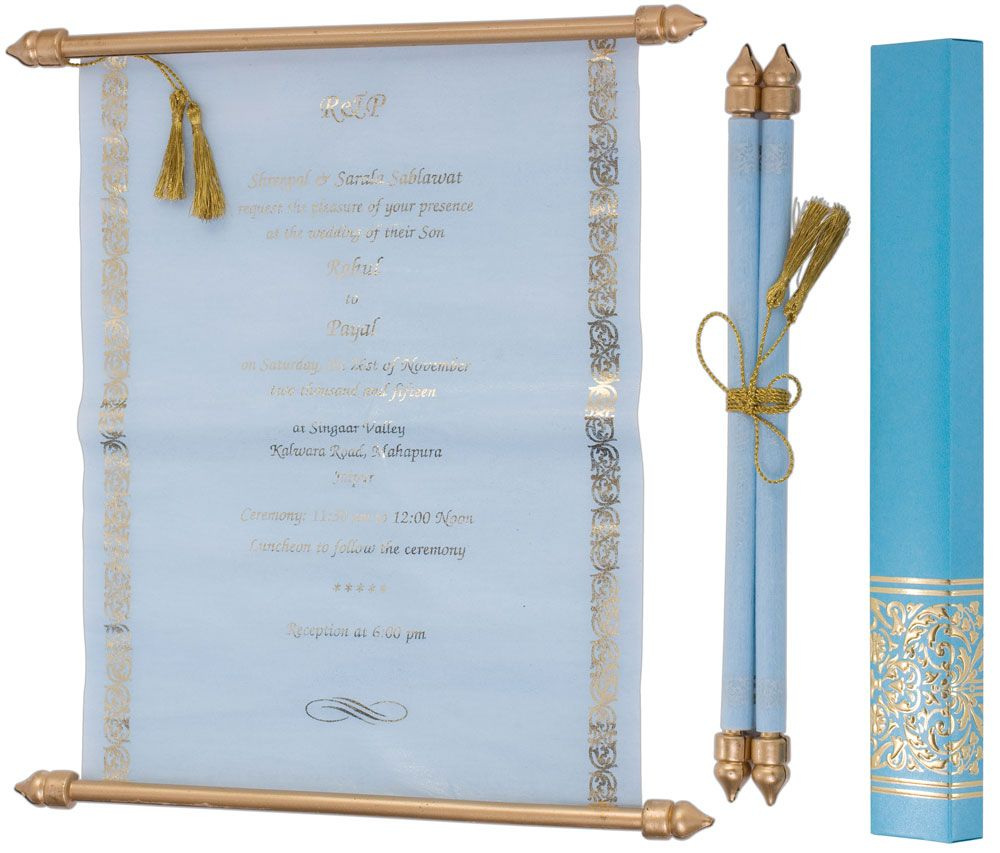 Hochzeitskarten In Türkis. Http://www.royalday.de/Schriftrollen/