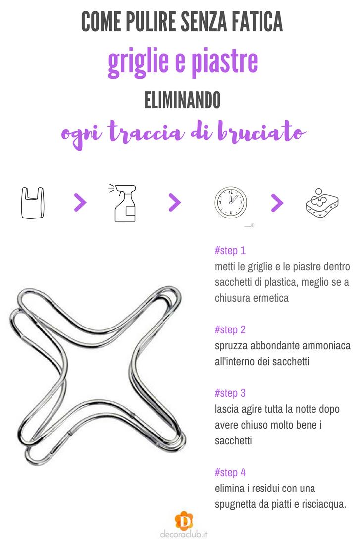 Come Pulire Il Piano Cottura pulire le griglie dei fornelli: il metodo più semplice ed