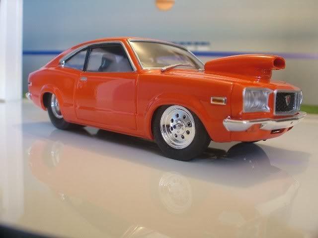 Fujimi Mazda Savanna (early type)    Model Car Pics