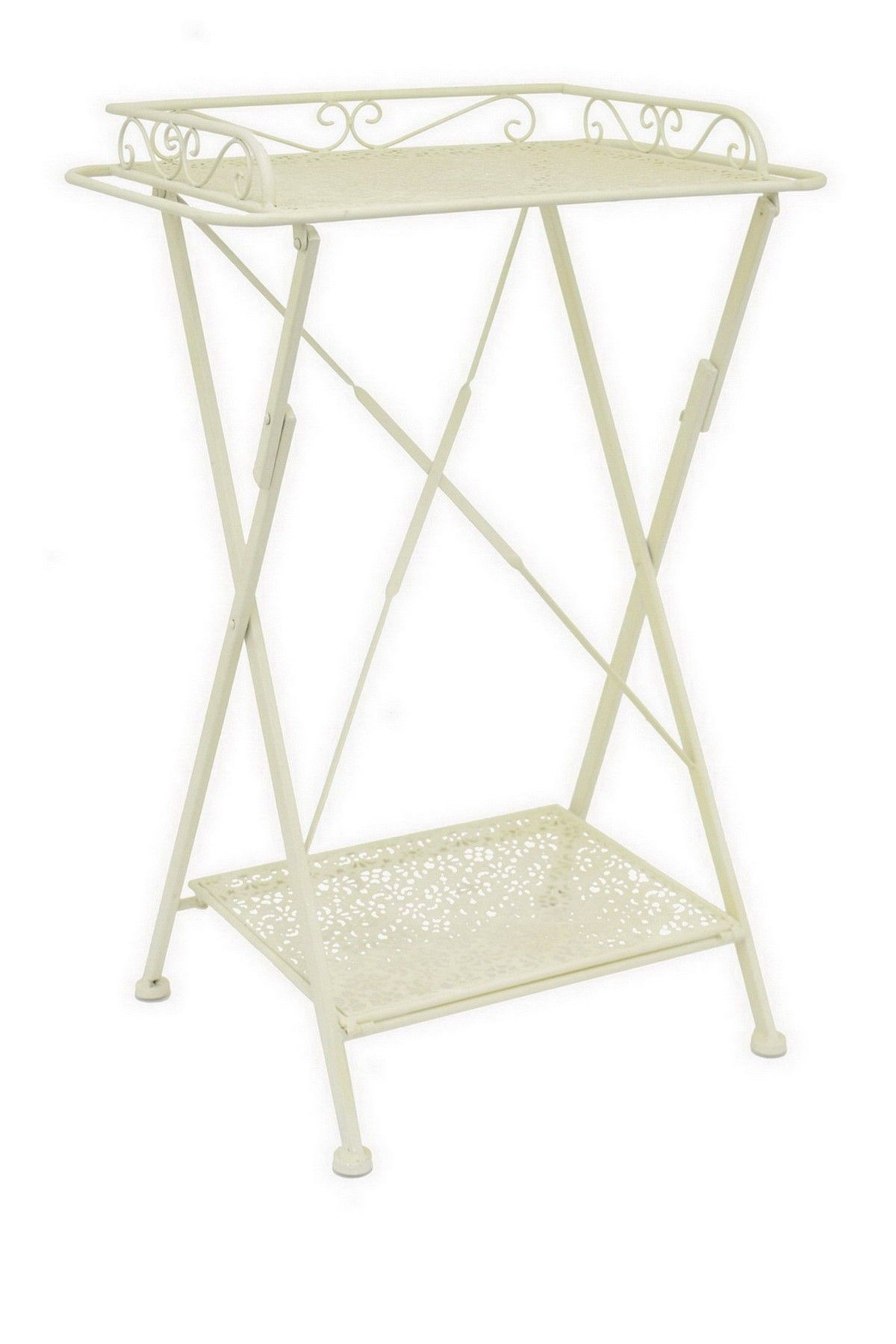 Three Hands | Ivory Metal Folding Tray Table | Nordstrom Rack Sponsored By  Nordstrom Rack.