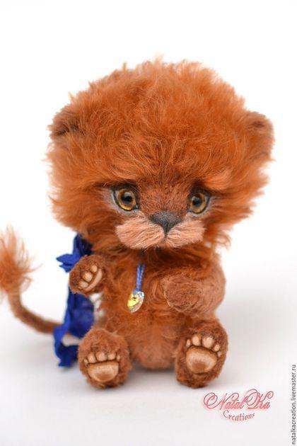 Купить или заказать Лев тедди Никлас 15,5 см в интернет ...