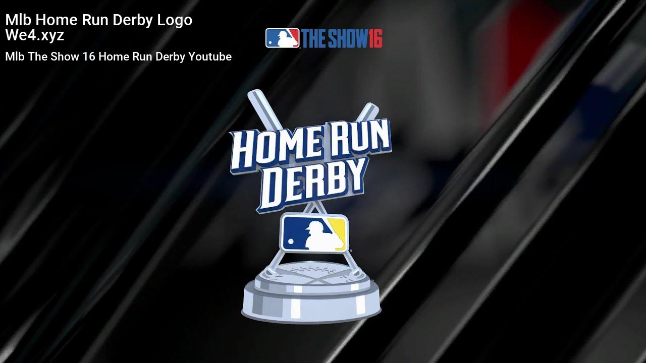 Mlb Home Run Derby Logo Homerun Mlb Derby