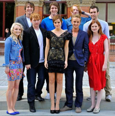 """The """"Harry Potter"""" cast all grown up"""