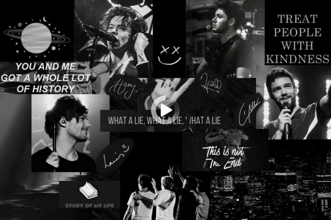 Sfondo Del Desktop One Direction In 2021 One Direction Wallpaper One Direction Collage One Direction Background