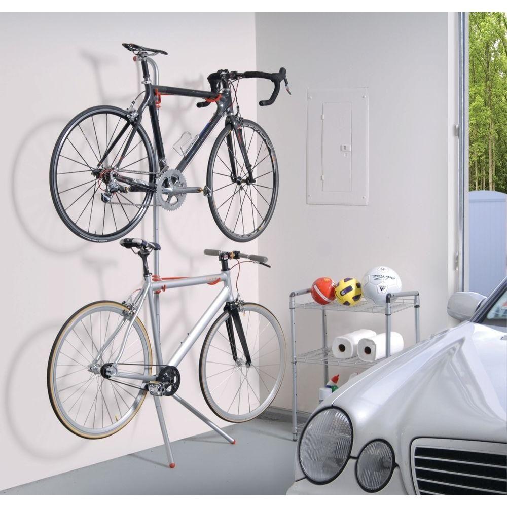 The Art Of Storage Donatello 2 Bike Leaning Bicycle Storage Rack