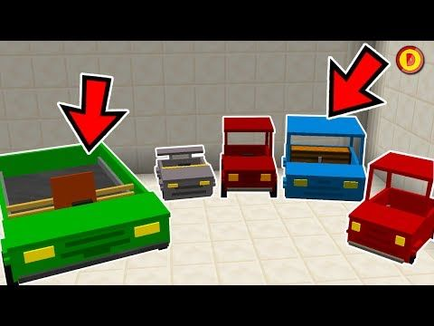 MINECRAFT HOW TO GET CARS (NO MODS) - (Ps3/Xbox360/PS4
